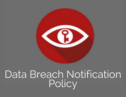 Art. E - Data Breach Notification Policy - GDPR
