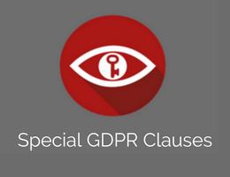Art. J - Bijzondere GDPR clausules